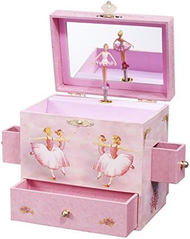 Bonne Bonne Bonne année, bon shopping Ballerina Musical Treasure Box 6c418e