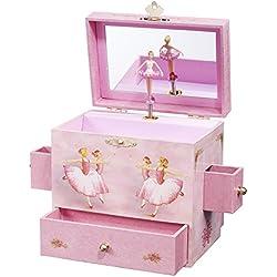 Ballerina Treasure Music Box