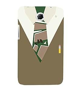 School Collage Dress 3D Hard Polycarbonate Designer Back Case Cover for Lenovo K880