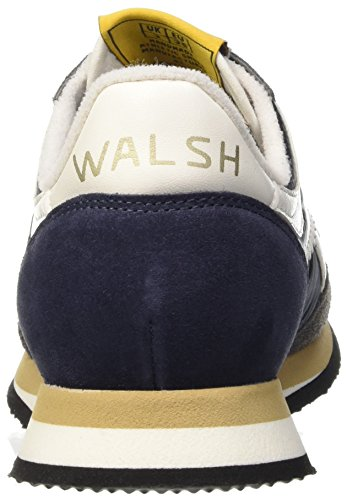 Walsh Tornado, Chaussures Basses Homme Multicolore (Navy/Grey/White)