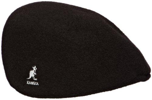 kangol Herren Mütze Seamless Wool 507, Gr. Medium (Herstellergröße: Medium), Schwarz