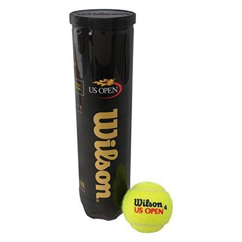 Wilson  Tennisball US Open 4er Dose, gelb, T1162