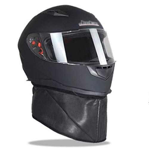 Für alles dankbar Motorradhelm voller Helm mit abnehmbarem Helm Elektroauto Winter Warmer Helm...