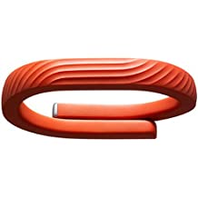 Jawbone UP24 - rastreadores de actividad (Brazalete, Inalámbrico, Li-Ion polymer, Naranja, Thermoplastic urethane (TPU), Caucho, Android 4.0)