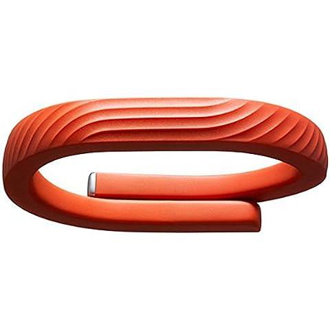 Jawbone UP24 - rastreadores de actividad (Brazalete, Inalámbrico, Li-Ion polymer, Naranja, Thermoplastic urethane (TPU), Caucho, Android