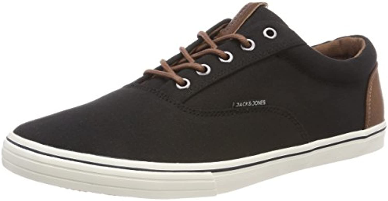 JACK  JONES Herren Jfwvision Mixed Ss Anthracite Noos Sneaker