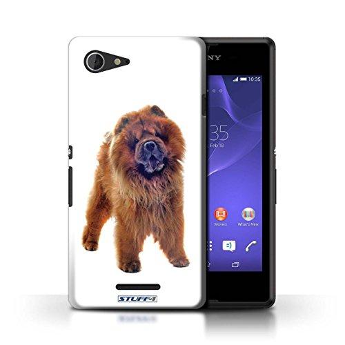 Kobalt® Imprimé Etui / Coque pour Sony Xperia E3 / Bull Terrier conception / Série Chiens Chow Chow