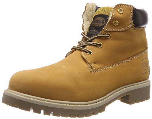 Dockers by Gerli Unisex-Kinder 35FN710-300 Combat Boots, Gelb (golden tan 910), 41 EU (Mädchen Boots Combat)