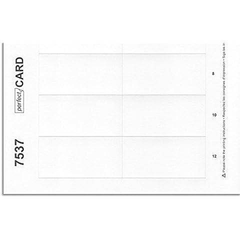 10 pliegos de impresión 7537 por identificador personal office 40