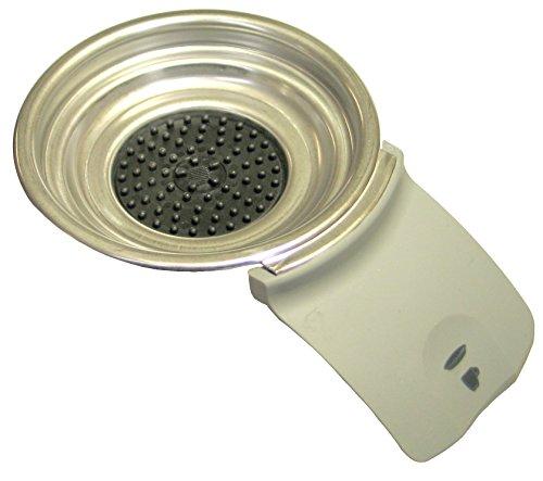 MMSB 422225939230 Philips Senseo Support de dosette café pour machine HD7820 HD 7830 Gris argenté