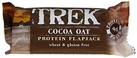 Trek Cocoa and Oat Protein Flapjack Bar 50 g (Pack of 16)