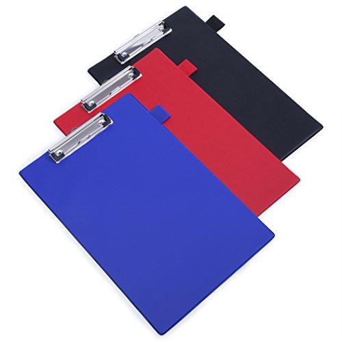 Rapesco A4 Standard Clipboard PVC, Black - Pack of 10 Test