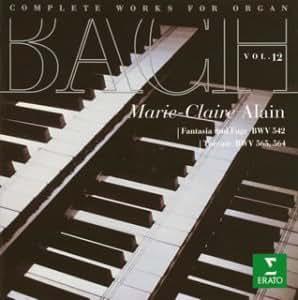 Bach:Organ Works Vol.12