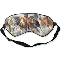Eye Mask Eyeshade Oil Painting Horse Sleep Mask Blindfold Eyepatch Adjustable Head Strap preisvergleich bei billige-tabletten.eu