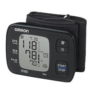 Omron RS6 Elektronisches Blutdruckmessgerät für das Handgelenk, internationale Version