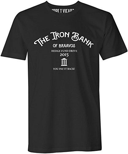 More T Vicar Iron Bank of Braavos - Herren T Shirt (Bank Bm)