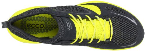 Ecco 802514, Chaussures de sport homme Noir (Dark Shadow/Dark Sha./Buttercup 57915)