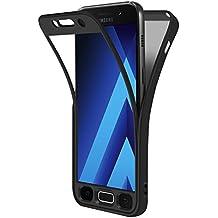 """Funda Samsung Galaxy A3 2017 4.7"""", ivencase Carcasa TPU Gel Silicona Suave Flexible Tapa Anti-rasguños Case Cover para Samsung Galaxy A3 2017 4.7"""" - Negro"""