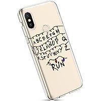 YSIMEE para Fundas Xiaomi MI MAX 3 Estuches,Fundas Transparente Silicona Goma Suave Ultra Fina Delgado Gel Bumper TPU Goma Protectora Carcasas para Xiaomi MI MAX 3 -Linterna