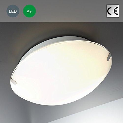 #LED Deckenleuchte Glas Lampe Deckenlampe Lampe LED Deckenleuchte LED Strahler LED Spots Deckenleuchte LED Wohnzimmerlampe weiß#
