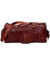 Urban Hide UH402 - Bolsa de viaje  marrón Tan Bown L x B x H - (22 x 9 x 14) inches