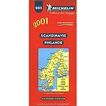 Carte routière : Scandinavie - Finlande, 985, 1/1500000