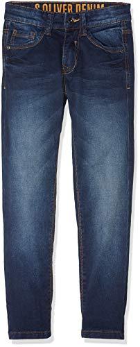 s.Oliver Jungen Jeans 61.808.71.3235 Blau (Blue Denim Stretch 56z5) 146/SLIM
