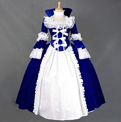 - Blau Hexe Kostüm