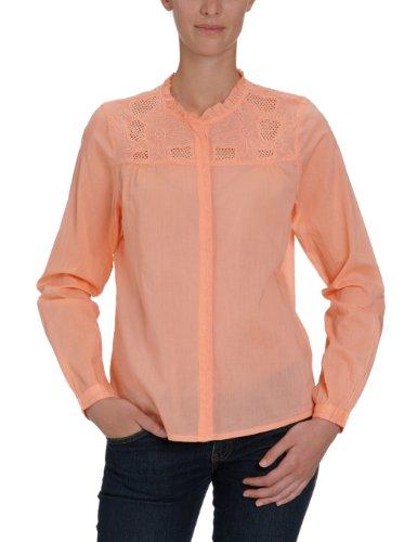 VILA CLOTHES Damen Bluse, 14011150 Dittas Shirt Beige (DESSERT FLOWER)