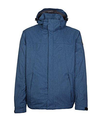 Michaelax-Fashion-Trade - Blouson - Uni - Manches Longues - Homme Stahlblau (872)