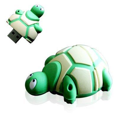 Zuber® Neuheit Cartoon Grün Schildkröte USB Flash Key Pen Drive Memory Stick Geschenk UK