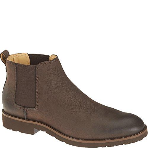 Sebago B26750 DRAKE Chelsea Boot Chocolate Suede Dark Brown