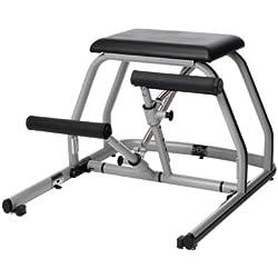 Peak Pilates® MVE Fitness Silla Split Pedal–Negro, 23,5x 31x 37.5-Inch