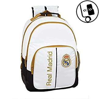 413G7LUvXYL. SS324  - Real Madrid CF Mochila doble con cantoneras adaptable a carro