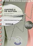 Contrôle de gestion Énoncé - UE 11 du DCG