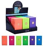 1 ETUI A CIGARETTE 100S CLIC BOX FLUO 20 CIGARETTES OUVERTURE AUTOMATIQUE