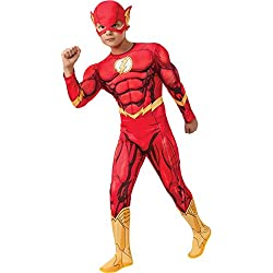Rubies - Disfraz Marvel The Avengers El Flash para niños de 5-7 años (881369_M)