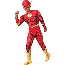 Rubie's - Disfraz Marvel The Avengers El Flash para niños de 8 - 10 años (881369_L)