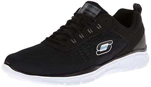 skechers-equalizer-deal-maker-sneakers-basses-homme-noir-noir-blanc-41-eu