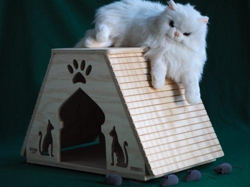 Dubai tamaños XL - casas para gatos Profesional y rascadores Blitzen