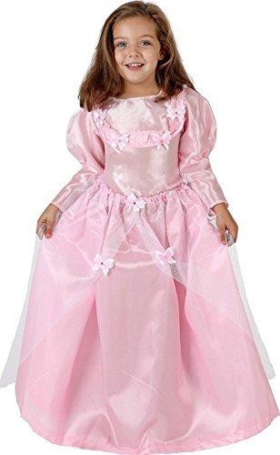 Deguisement Robe Princesse Rose Enfant 5/7 ans - Costume Fée Fee - 065