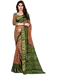 Widespread Collection Silk Saree (Wc708_Mustard & Green)