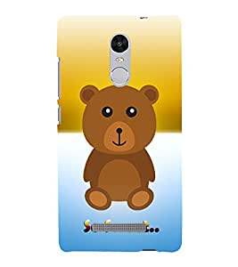 Fuson Designer Back Case Cover for Xiaomi Redmi Note 3 :: Xiaomi Redmi Note 3 Pro :: Xiaomi Redmi Note 3 MediaTek ( Sweet Animated Teddy Spider Rhino Tiger Tatto )