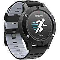 Diggro DB-05 GPS Smart Watch Intelligente Bracciale Fitness Smart Watch per Android iOS iPhone Samsung Sony Huawei e per Sport Nuoto Running Walking per Donna Grigio