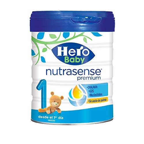 Hero Baby Nutrasense Premium 1 Leche en Polvo de Inicio para Lactantes a partir del Primer Dia 800 g