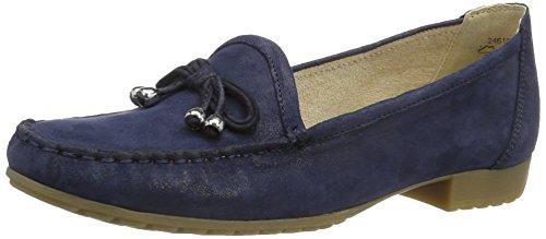 Caprice Damen 24610 Mokassin, Blau (Ocean Sue.Comb), 40 EU