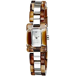 Esprit Women's Quartz Watch Analogue Display and Stainless Steel Strap