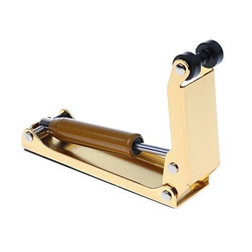MagiDeal Piano Tuning Dämpfer Schutz von Hände Klavier Puffer Hand Druck aus Metall (Farbwahl) - Golden -