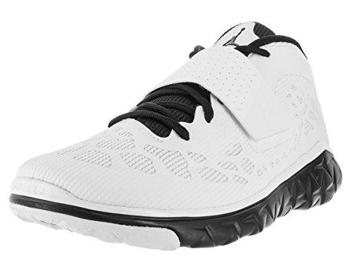 Nike Herren Jordan Flight Flex Trainer 2 Turnschuhe, Schwarz/Weiß (Schwarz/Weiß-Schwarz), 41 EU (Schuhe Nike Jordan Flight)