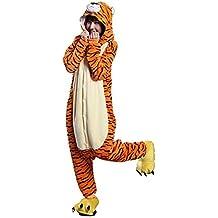 Missley Adulto Unisex Flanela Unicornio Cartoon Animal Novedad Halloween Pijama Cosplay